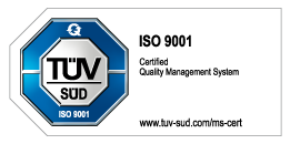 ISO 9001 - Certified Quality Management System